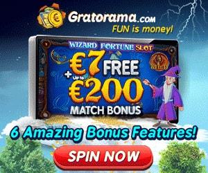 Latest bonus from Gratorama Casino